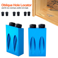 Pocket Hole Jig Kit 6/8/10mm 15 Degree Angle Adapter  Drill Guide Woodworking Adapter F5H6 Drill Bits
