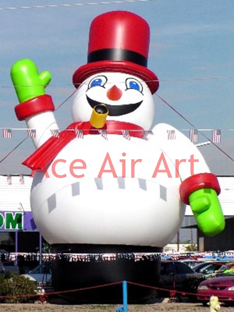 ᑎ‰Sonriente inflable Navidad muñeco de nieve para Navidad ...