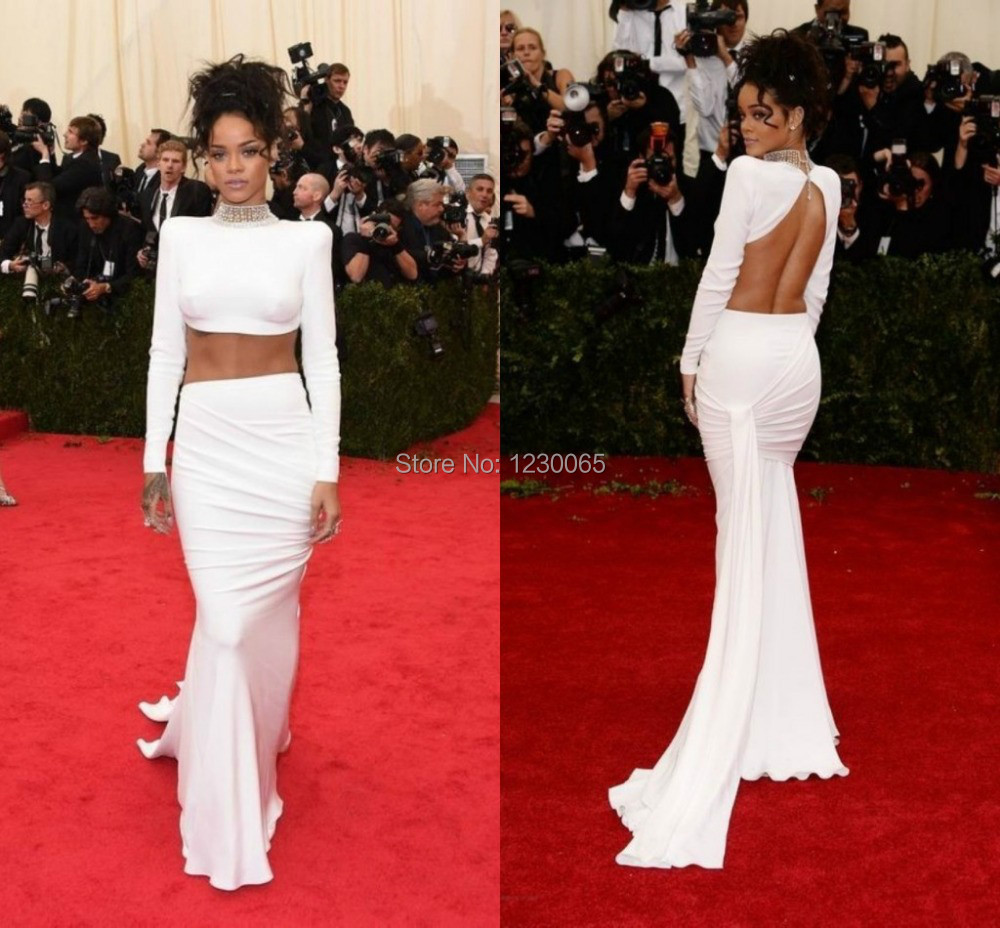 popular rihanna white dressbuy cheap rihanna white dress