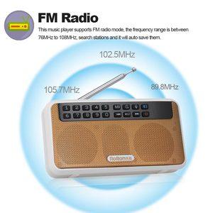 Image 3 - Rolton E500 stéréo Bluetooth haut parleur FM Radio Portable haut parleur Radio Mp3 jouer enregistrement sonore main libre pour téléphone et lampe de poche