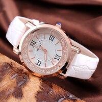 KEZZI Brand Leather Strap Watches Women Dress Watch Relogio Ladies Wristwatches Clocks Designer Ladies Gift Quartz