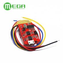 Placa amplificadora de potencia CT14 Micro 4,2 con Bluetooth, módulo 5VF 5W + 5W Mini con puerto de carga para reacondicionar la caja de sonido en ralentí