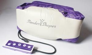 Image 2 - Cinto elétrico de massagem, cinto de emagrecimento para queima de gordura, modelador de lente com motores vibratórios, frete grátis