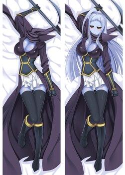Monster musume no iru nichijou anime Characters sexy girl Dullahan lala pillow cover Dakimakura