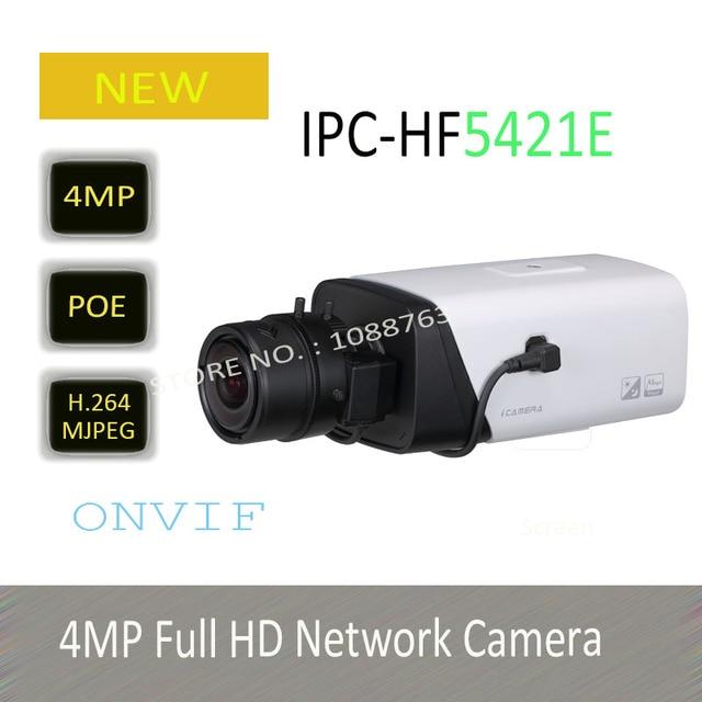 4MP DAHUA Full HD Сетевая Камера с POE Оригинальная Английская Версия без Логотипа IPC-HF5421E