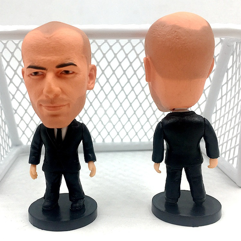 6 5 Cm Height 2019 Season Football Doll Star Real Madrid C Robasa Mesine Marsala Salah Gift Ball Star Doll Play Doll Hand Model in Action Toy Figures from Toys Hobbies