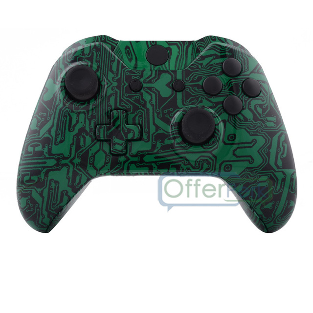 US $14 99 |Green Circuit Board Housing Shell with Button Replacement for  Xbox One Controller-in Cases from Consumer Electronics on Aliexpress com |