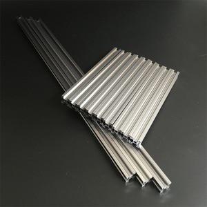 Openbeam 2020 aluminum profile with aluminum alloy motor frame Bottom vertex Top vertex For DIY delta 3D printer|3d printer profile|printer profiles|for 3d printer -