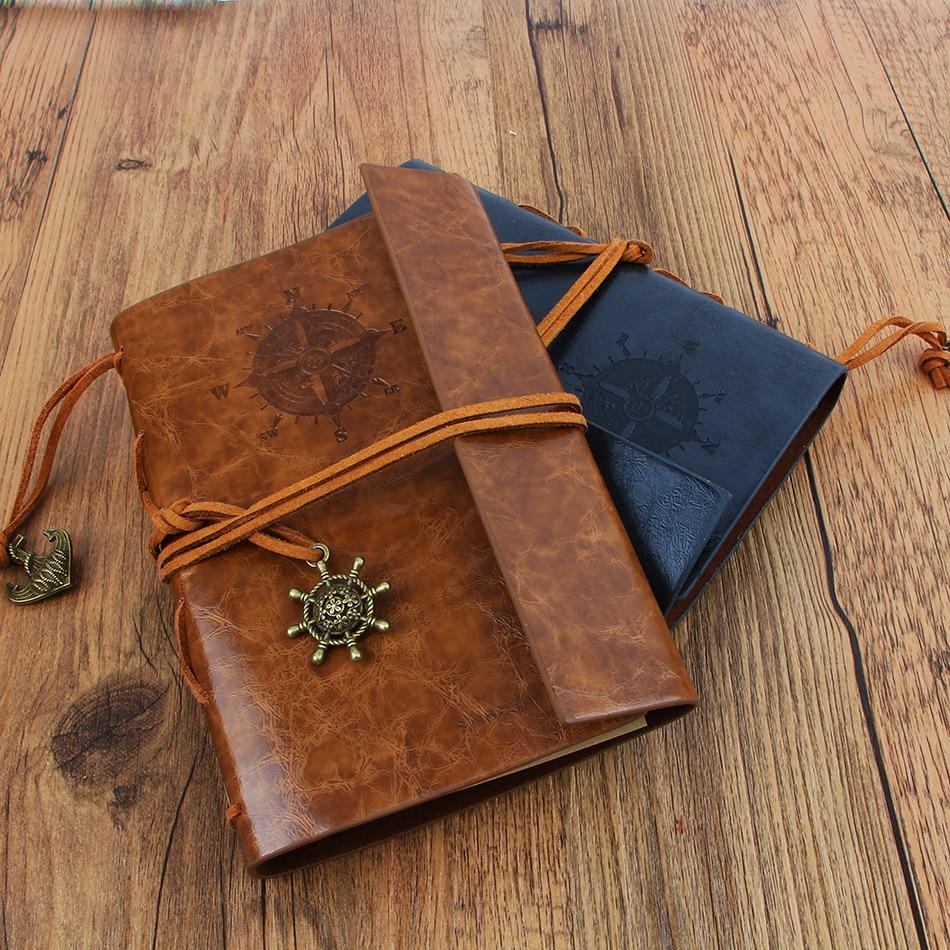 Nový deník kniha Notebook Vintage Pirate Notebook Vyměnitelný - Bloky a záznamní knihy - Fotografie 2