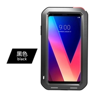 For LG V30 6.0 Case LOVEMEI Extreme Powerful Life Metal Aluminum Case Shockproof Robot Armor Cover Heavy Duty Shell For LGV30