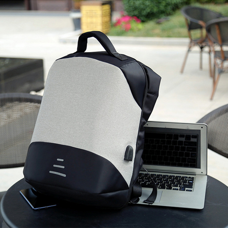 Anti theft Backpack Bag Mens Women Male Female 15 6 Inch Laptop Backpacks Outdoor Travel Bags Men USB Charging Notbook Bagpack in Backpacks from Luggage Bags