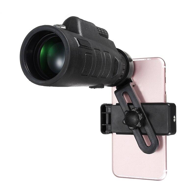 35x50 Zoom Monoculaire Télescope Téléphone Camera Lens + Téléphone Clip Support Universel pour iPhone ou Android Smat Mobile téléphones