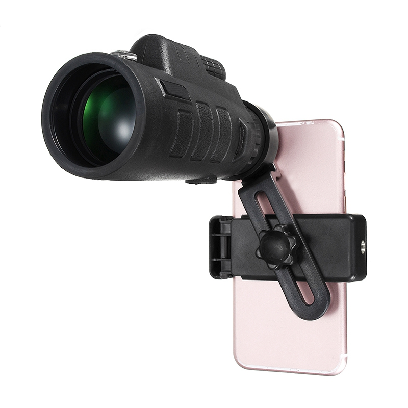 35x50 Zoom Monokular Teleskop Handy-kamera-objektiv + Telefon Clip Halter Universal für iPhone oder Android Smat Mobile handys