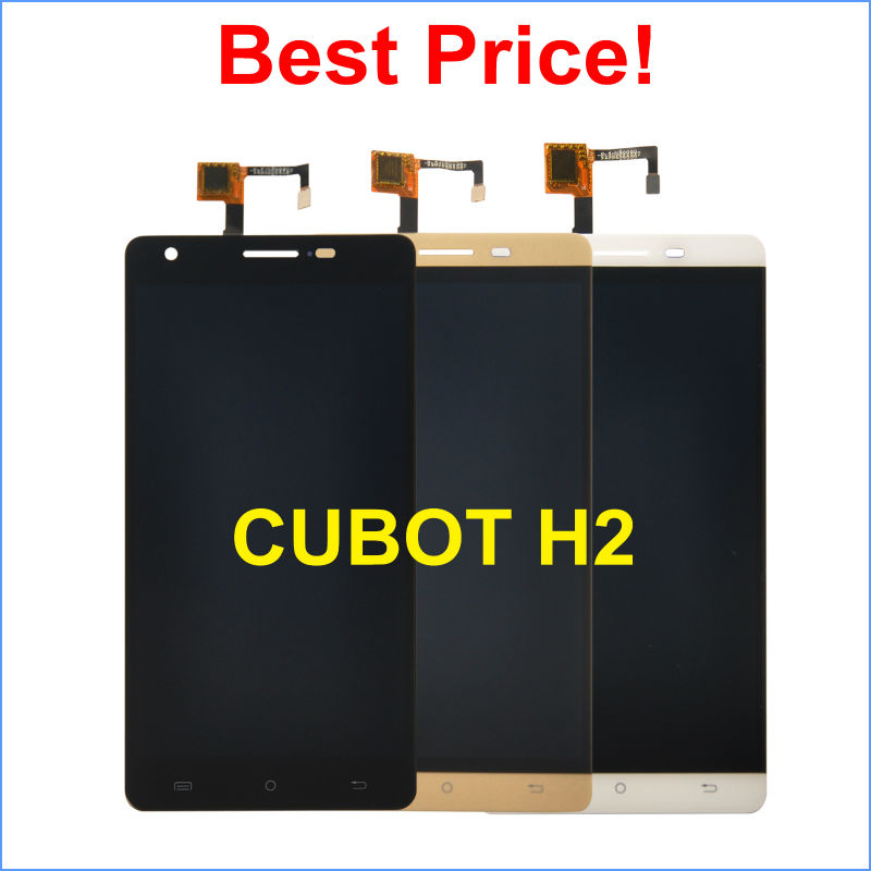 imágenes para CUBOT H2 LCD Display + Touch Screen Asamblea Digitalizador 100% Original Accesorios de Repuesto para CUBOT Teléfono Celular H2 + herramientas