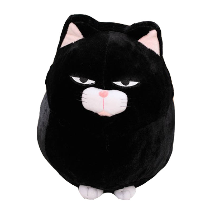 Home & Garden Dashing 30/40cm Big Face Cat Cloth Doll Pussy Cat Plush Toy Children Fat Cat Doll Animals Birthday Gift For Children Kids Toys Exquisite Craftsmanship; Table & Sofa Linens