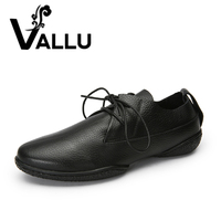 2018 Casual Lace Up Flat Shoes Woman Genuine Leather Soft Women S Shoes Handmade Basic Comfortable