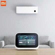 Оригинальный сенсорный экран Xiaomi AI, Bluetooth 5,0 динамик, цифровой дисплей, будильник, WiFi смарт соединение, динамик Mi
