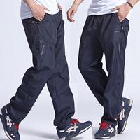Новые уличные мужские спортивные брюки быстросохнущие Беговые брюки мужские брюки для бега и спортивные брюки для мужчин плюс размер 3XL