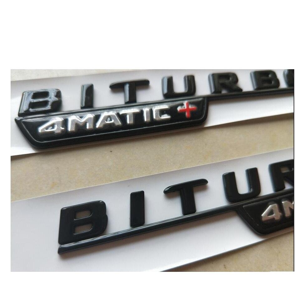 Embl/ème BITURBO 4MATIC pour garde-boue de Benz