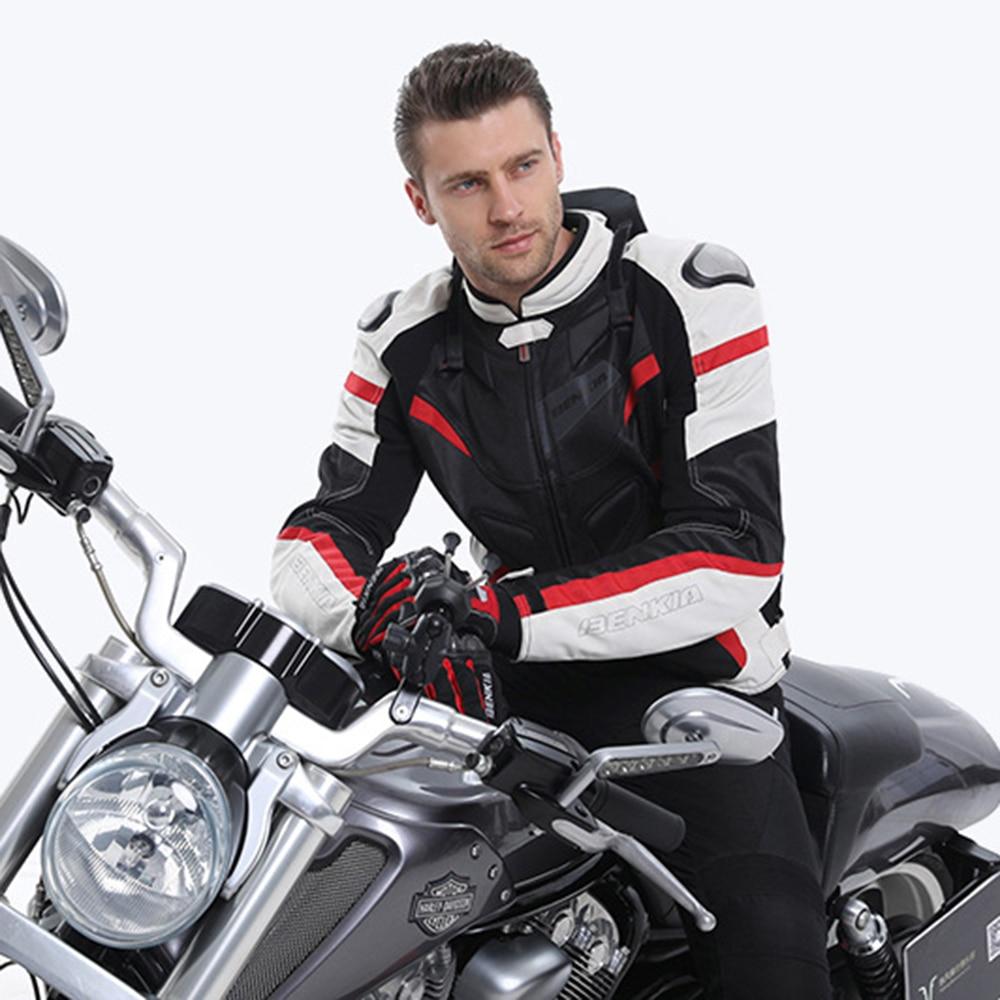Veste de moto hommes Textile moto course équitation veste de moteur armure printemps été vêtements respirants vêtements de protection tissu