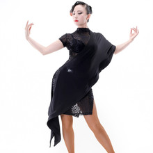 black salsa dance dresses latin dress ballroom tango dresses rumba dress latin dance costumes for women