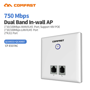 750Mbps Wireless WiFi AP Access Point 802.11AC Router WiFi Repeater Extender 5.8Ghz Wan/Lan RJ45 Indoor Wall Repetidor Amplifer(China)