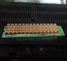 Para el Ordenador portátil M.2 SSD Sólido disco Duro barra Ultra-thin cooler silent radiador disipador de calor De Aletas de Cobre 0dB