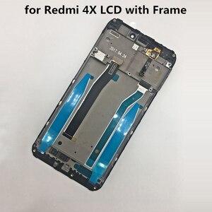Image 4 - מקורי לxiaomi Redmi 4X LCD תצוגת מסך מגע מבחן טוב Digitizer עצרת החלפת לxiaomi Redmi 4X פרו 5.0 אינץ