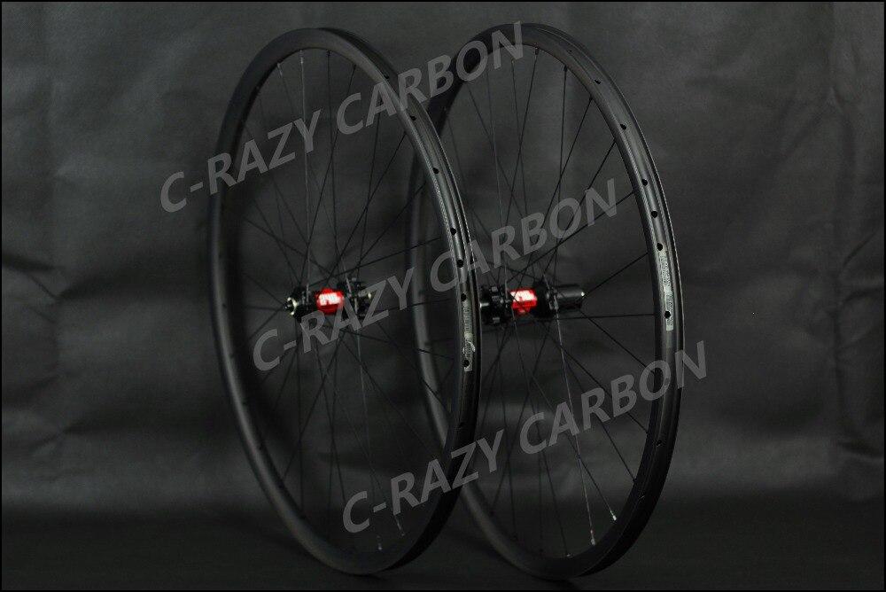 MTB carbon wheelset .XC wheels hookless rim tubeless compatible , 29ER and 27.5ER(650b) light xc 27 5er mtb carbon wheels 650b mountain bike carbon wheelset tubeless ready 26er bicyclewheels 29er cycling wheels