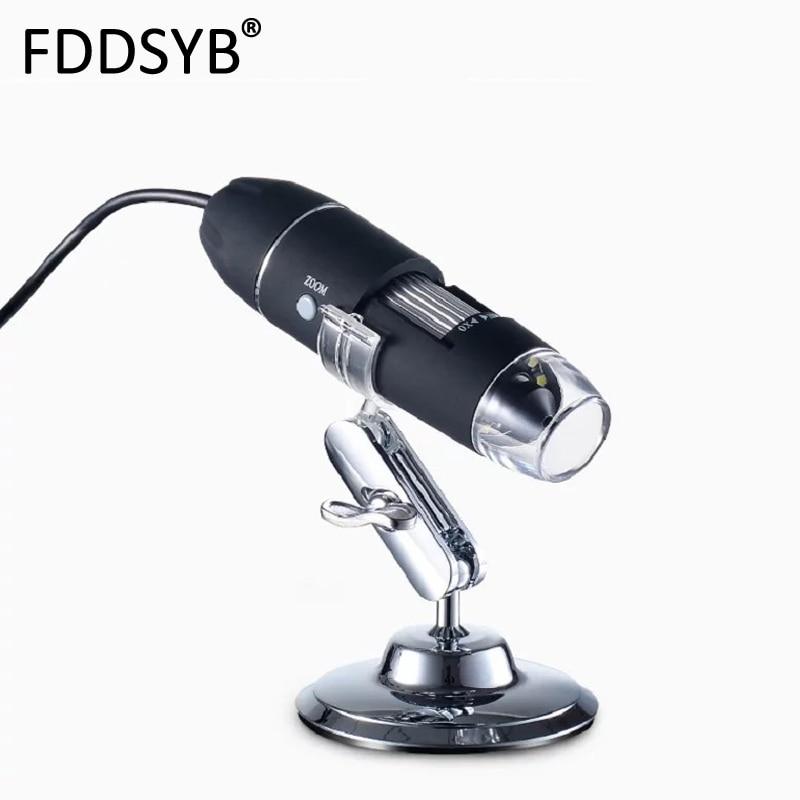 Méga Pixels 500X1000X1600X8 LED numérique USB Microscope carte mère réparation loupe électronique stéréo USB Endoscope caméra|microscopes|   - AliExpress