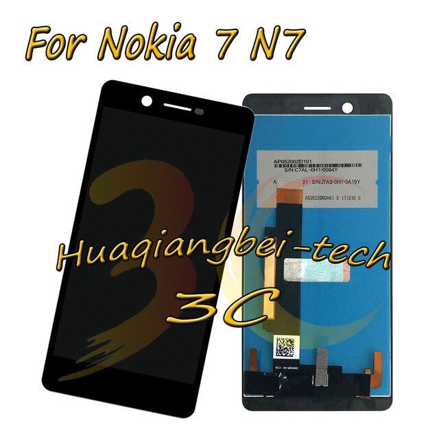 5.2 ''עבור Nokia 7 N7 צג lcd מלא + מגע מסך Digitizer עצרת עבור Nokia 7 100% נבדקו עם מעקב מספר