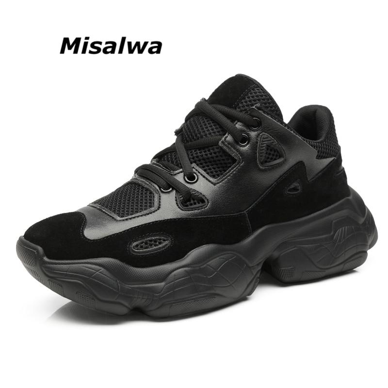Ar Sneakers white Sneakers black Preto Plataforma Grossa Até Tênis Chegada Beige Casuais De Da 2019 Rendas Novo Ao Bege Men Moda Sola Sapatos Confortável Homens Misalwa Sneakers Branco Livre fqSpvwR