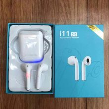 Dropshipping i11 TWS Bluetooth 5.0 Earbuds i11s TWS Wireless Earphones Support Touch Control Wireless Charging Binaural Calling(China)