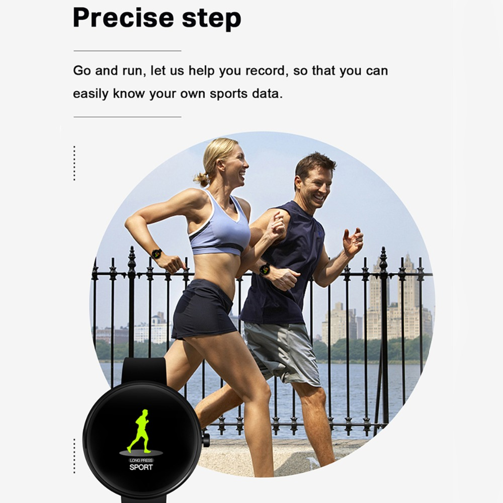 torntisc fitness smartwatch with 1.22 inch display and sports tracker ip68 waterproof and heart rate monitor