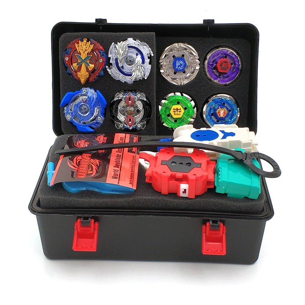 14 piezas Toupie Beyblade estalló conjunto Masters lanzador trompo Beyblades Metal Fusion Beyblade juguetes para niños bayblade