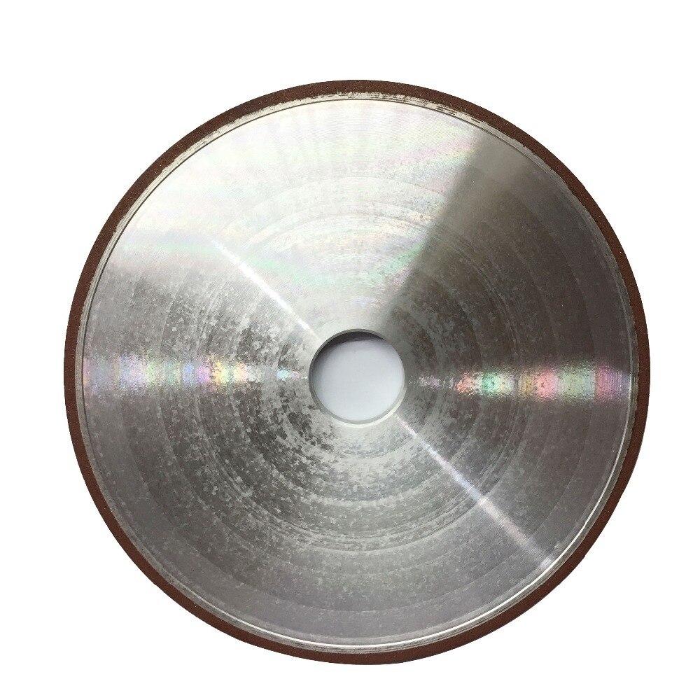 1 pc 200mm Fraise Broyeur Rotatif Diamant Meule 150/180/240/320 Grain Plat Meules Outils Abrasifs