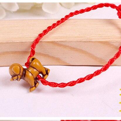 Red Rope Animal Bracelet...