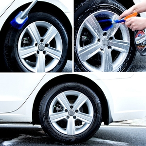 Image 5 - Brosses de nettoyage de pneus de voiture multifonctions, 3 tailles, pour moyeu de roues, pour lavage automatique, pour la Surface du corps de véhicule