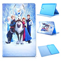 For Funda Samsung Galaxy Tab E 9.6 T561 Case Snow Queen PU Leather Stand Flip Tablet Cover Kids Case for Samsung Tab E9.6 T560