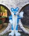 Blue fox фурсьют костюм талисмана волк фурсьюте хэллоуин костюм Карнавальный Костюм Бесплатная Доставка