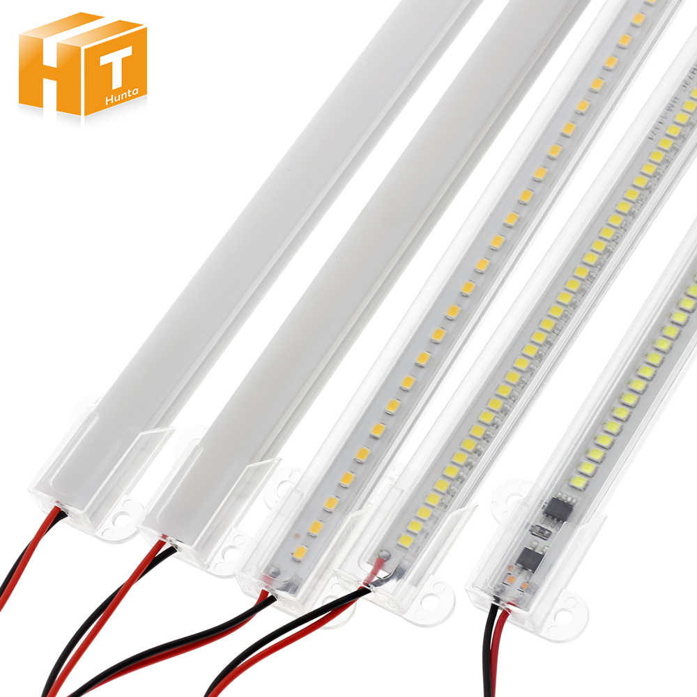 Светодиодный свет бар AC220V высокое Яркость 8 Вт 50 см, 30 см, 72 светодиодный s 2835 Светодиодный жесткой полосы энергосберегающие люминесцентные лампы светодиодные 5 шт./лот.
