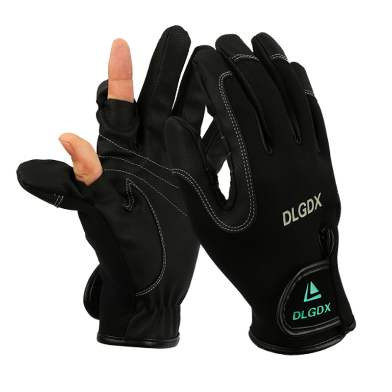 2017 new high quality men winter fishing gloves outdoor for Winter fishing gloves