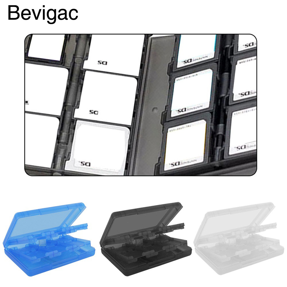 Bevigac Video Game SD Card Memory Card Micro SD Card Storage Box Case Holder for Nintendo NDS NDSi LL 2DS 3DS XL New 3DS LL XL