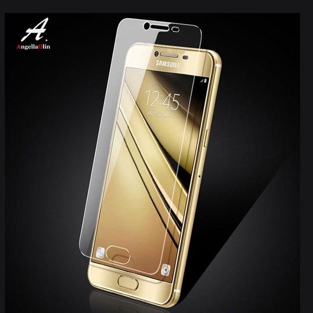 Para Samsung Galaxy J4 Core M10 M20 A9s M30 9 H protector de pantalla frontal de cristal templado de película caso película frontal cubierta