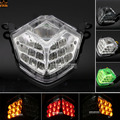 For KAWASAKI ZX-10R 2008-2010 ZX-6R/636 Z750 Z1000 Motorcycle Accessories Integrated LED Tail Light Turn signal Clear