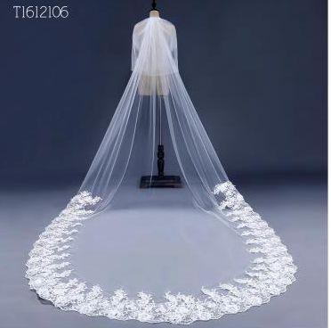 Online Get Cheap Wedding Mantilla Veils Aliexpress Com Alibaba