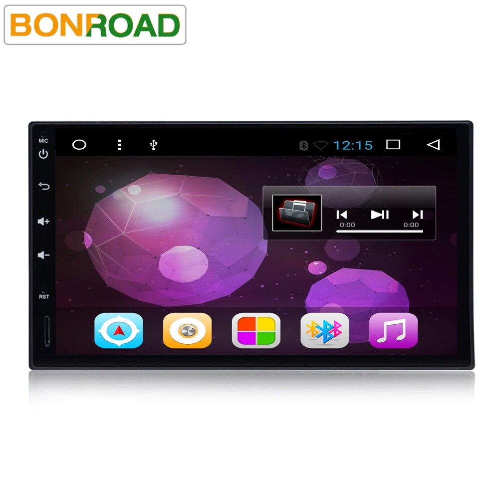 """imágenes para 7 """"2 Din Android 6.0 Cuádruple Núcleo Reproductor de Vídeo Del Coche GPS de Navegación 1024*600 Coches Reproductor de DVD Radio RDS Audio Wifi (sin DVD)"""