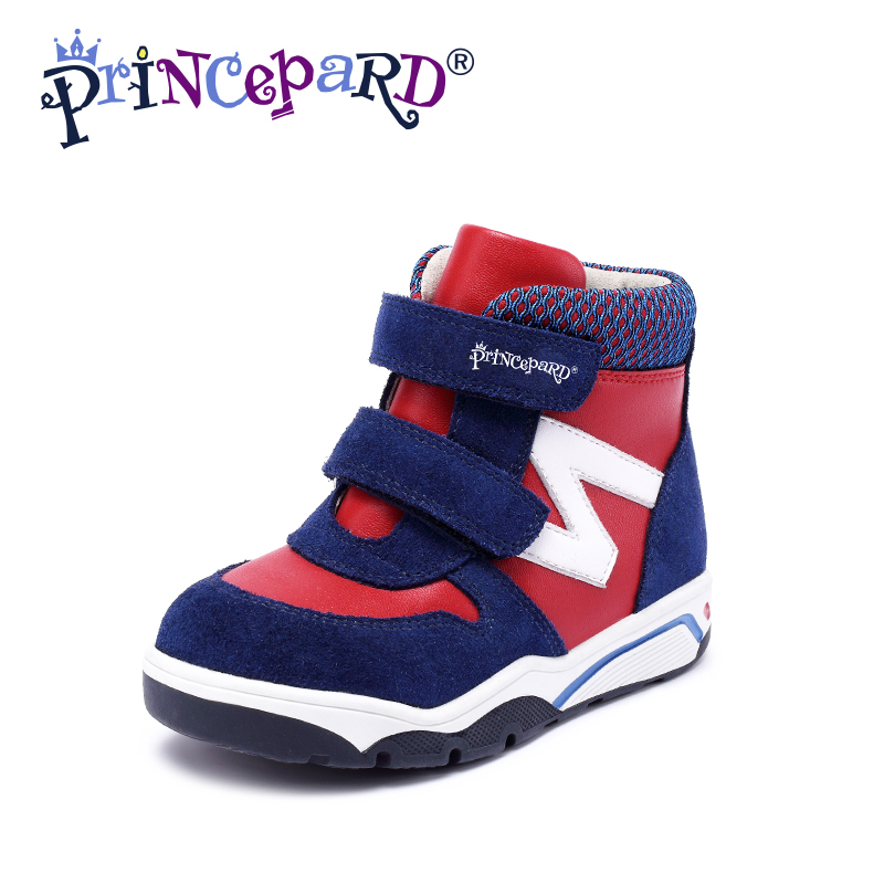 Princepard Girls Boys Orthopedic Leather Shoes with Arch and Ankle Support  Toddler Little Kid baby  orthopedic shoes senakers