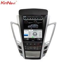 KiriNavi вертикальный автомобильный сенсорный экран в стиле Tesla Стиль 10,4 «для Cadillac CTS 2007-2012 автомобилей MP3 MP5 радио аудио GPS навигации Din монитор