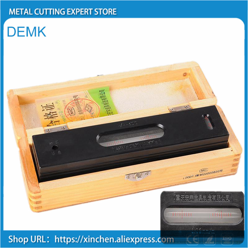 machine tool Level instrument 150mm blister level for machine maintenance machine adjustment table correction precision 0